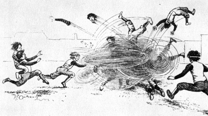 Illustration for article titled 19 Football Players Died in 1905, But Calls for Reform Were Mocked