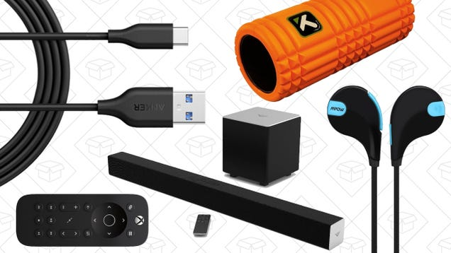 Sunday's Best Deals: TriggerPoint Foam Rollers, Vizio Sound Bar, Anker PowerLine, and More