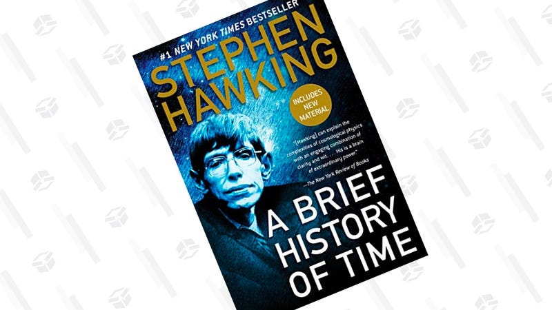A Brief History of Time [Kindle] | $3 | Amazon