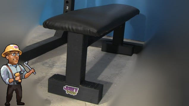 Make This DIY Gym Bench to Level Up Your Home Gym
