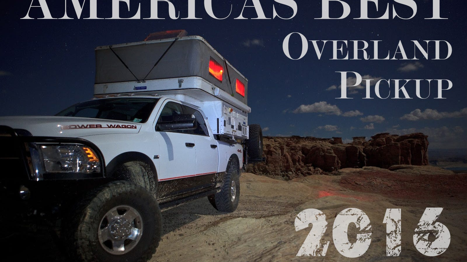 Best Overland Vehicles >> Americas Best Overland Vehicle - Full Size Trucks