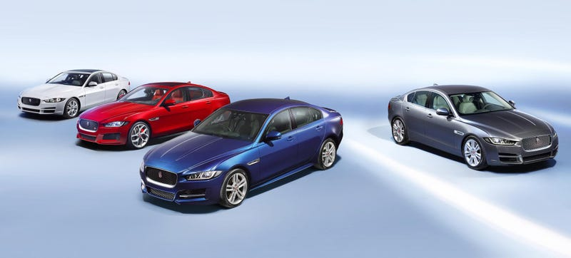 Illustration for article titled The Jaguar XE Will Come To America With Lusty Diesel Power And AWD