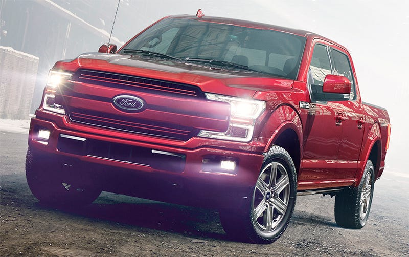 Illustration for article titled The 2018 Ford F-150 Gets An All-New Diesel (!) And Upgraded Gas Engines