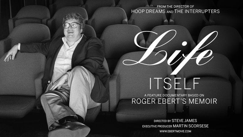 Illustration for article titled Get involved, Internet: Help fund the Roger Ebert documentary directed by Steve James