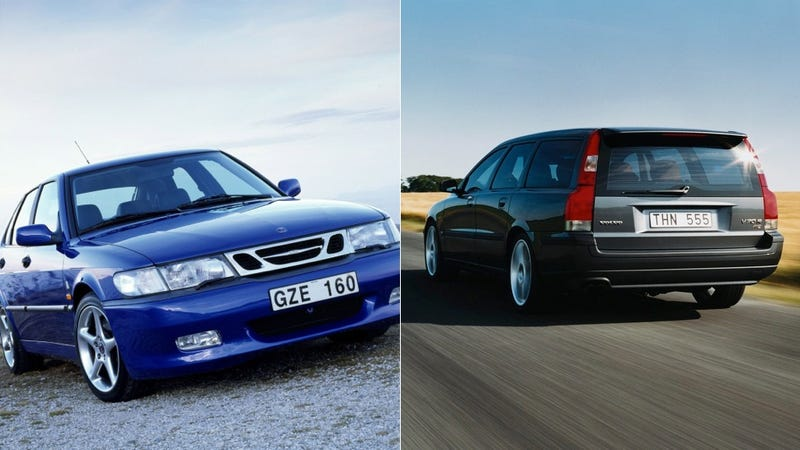 Illustration for article titled Why The Saab Viggen And Volvo V70R Are The Next Great Future Classics