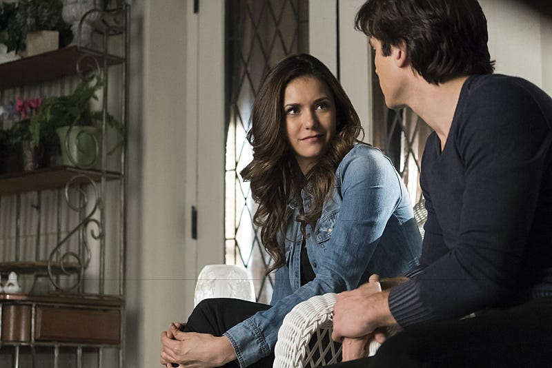 Illustration for article titled Nina Dobrev and Michael Trevino Are Leaving The Vampire Diaries