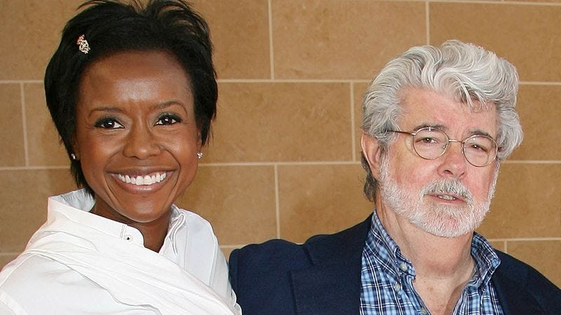 Illustration for article titled Embarrassed George Lucas Still Just Telling New Wife He Works In Digital Media