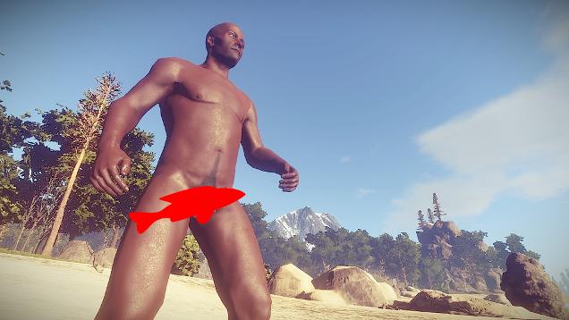 Rust Randomizes Penis Length, Players Compare Sizes