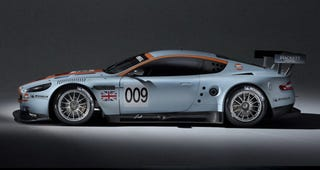 Illustration for article titled Aston Martin To Revive Gulf Oil Livery For Le Mans