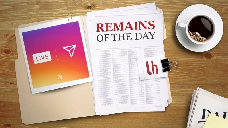 Illustration for article titled Remains of the Day: Instagram Launches Live Video