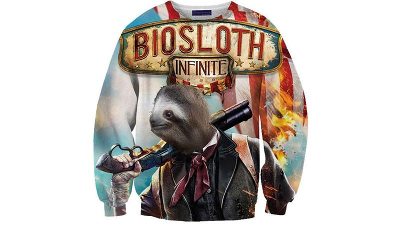 Illustration for article titled BioSloth Infinite Sweater Is At The Top Of My Christmas List