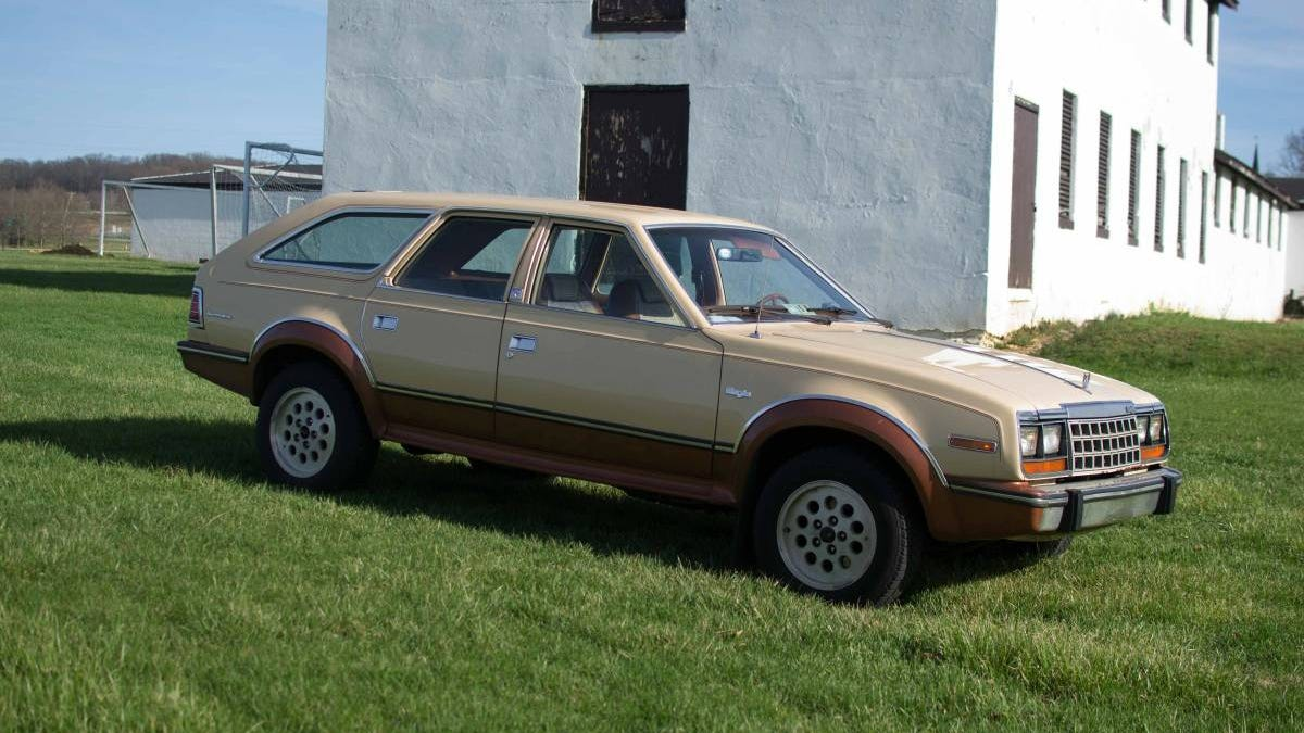 for $4,500, could this 1983 amc eagle signal your independence from the  mundane?