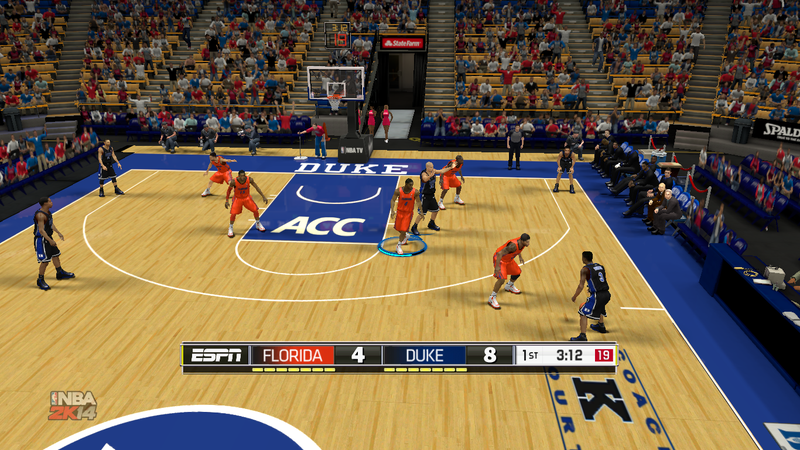 Illustration for article titled Modders Keep College Basketball Alive with 'March Madness 2K14' on PC