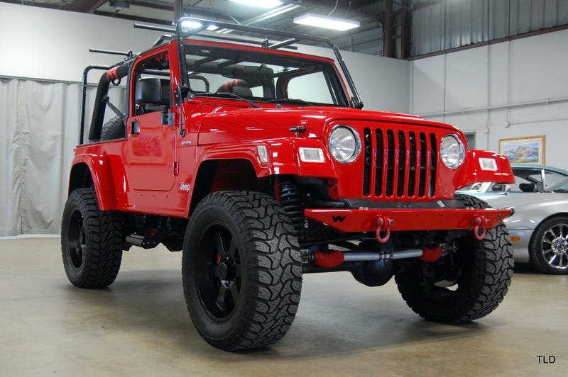 Could This Crazy Viper Powered 2005 Jeep Wrangler Unlimited Possibly Snake  $52,000?