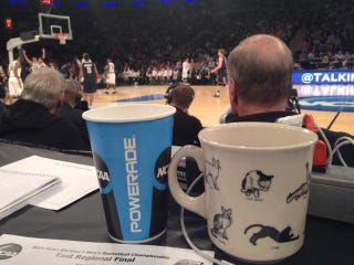 Illustration for article titled NCAA Confiscates Reporter's Cat Mug