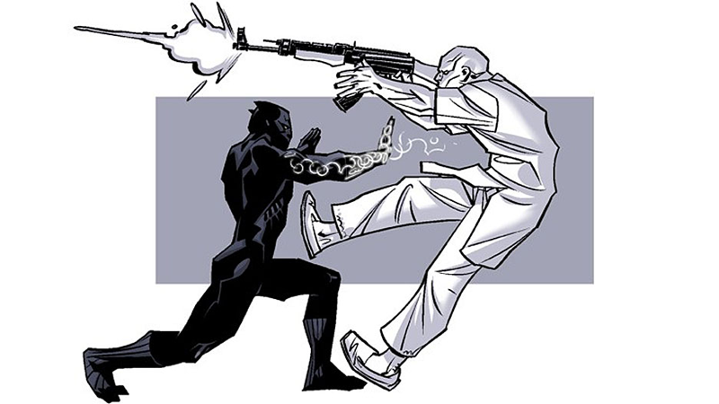 Illustration for article titled Ta-Nehisi Coates Reveals The Early Concept Art of His Black Panther Comic