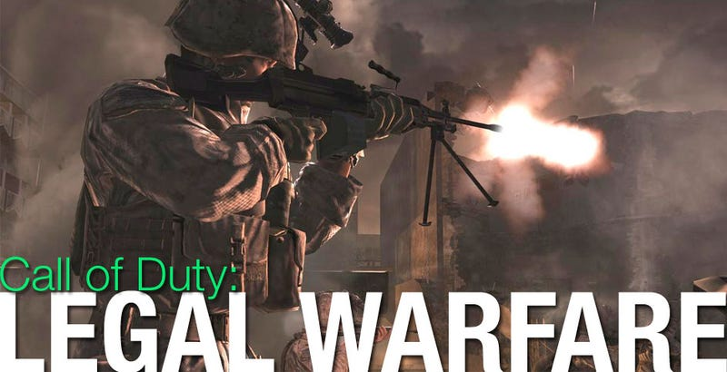 Illustration for article titled Modern Warfare Creators Taking Damage From Legal Fees