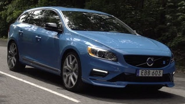 is the volvo v60 polestar a driver 39 s car. Black Bedroom Furniture Sets. Home Design Ideas