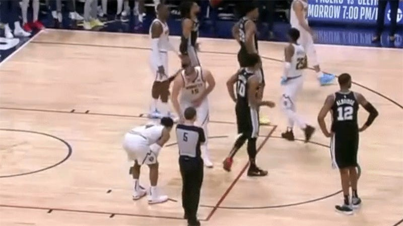 Nikola Jokic Showed Gary Harris How To Soothe His Bashed Testicles