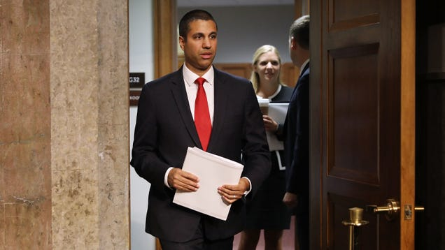 FCC Chair Ajit Pai Forges Ahead With Bullshit Plan to Turn the FTC Into His Fall Guy