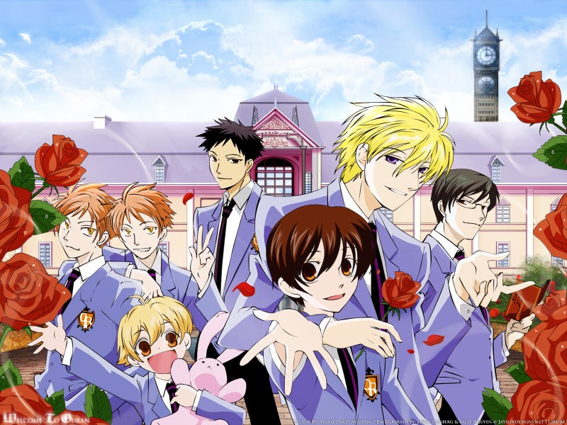 Illustration for article titled I've started watching Ouran High School Host Club,