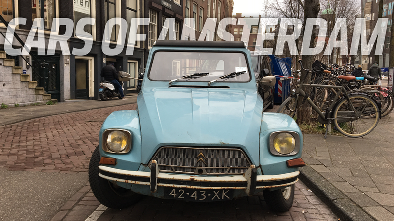 Illustration for article titled Amsterdam Has Some Pretty Incredible Cars Among All Those Bikes