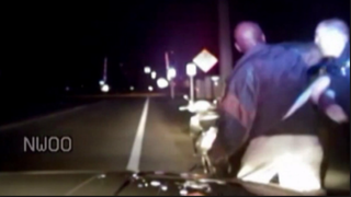 Dash-cam footage shows the moment authorities say Andrew Coffee, 52, struckIndian River County, Fla., Sheriff's Deputy Christopher Lester on Dec. 18, 2015.YouTube screenshot