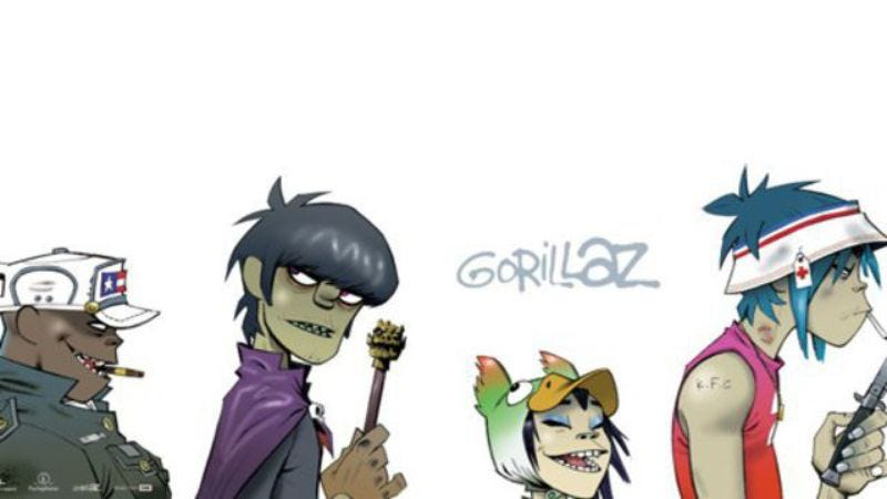 Illustration for article titled Gorillaz co-creator Jamie Hewlett confirms that the band is coming back