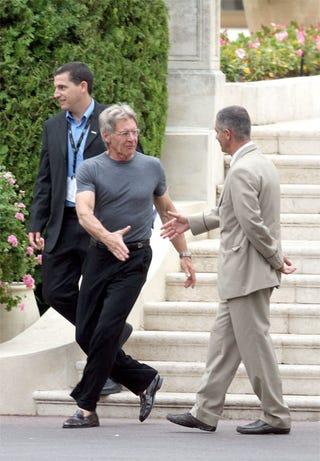 Illustration for article titled Harrison Ford Deploys Fatal Handshake