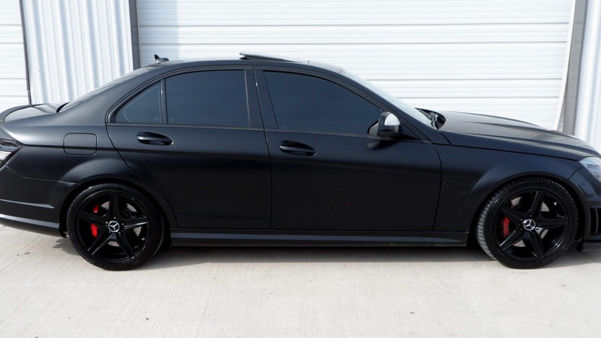 Buy This Monstrous C63 AMG For Way Less Than The Price Of A