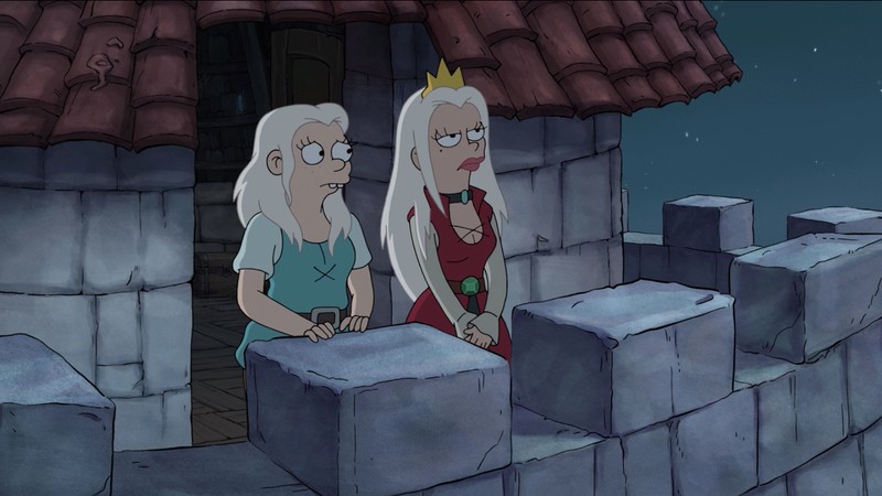 Illustration for article titled Disenchantment closes out its first season with a major betrayal and a destructive cliffhanger
