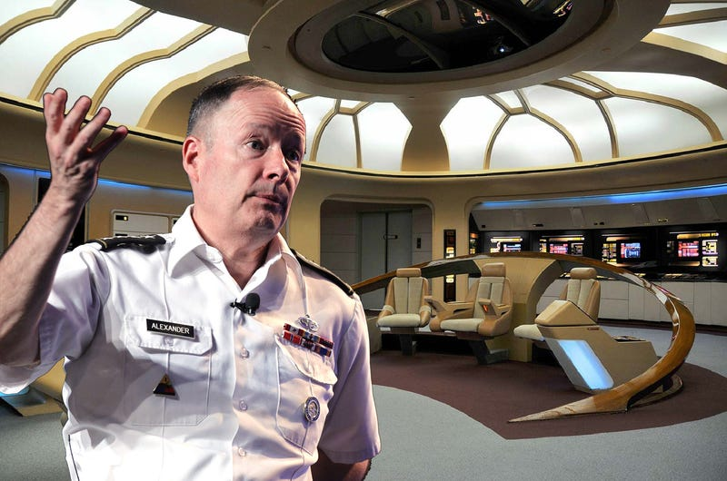 Illustration for article titled NSA Chief's Former War Room Was Modeled After the Starship Enterprise
