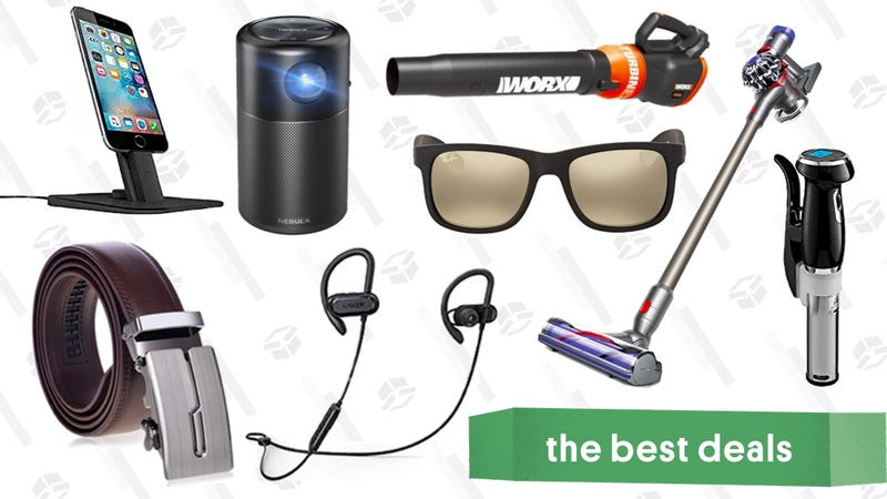 Illustration for article titled Friday's Best Deals: eBay Sale, Sous-Vide Cookers, Ray-Ban Sunglasses, and More