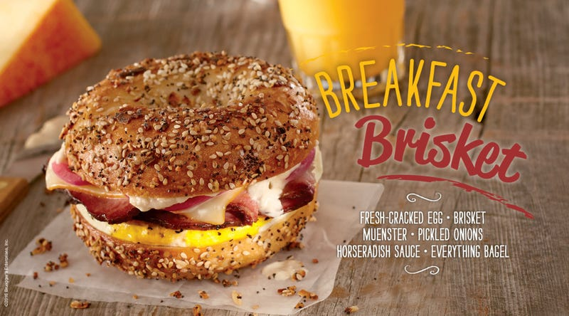 Illustration for article titled I went to a Bruegger's Bagels for the first time today