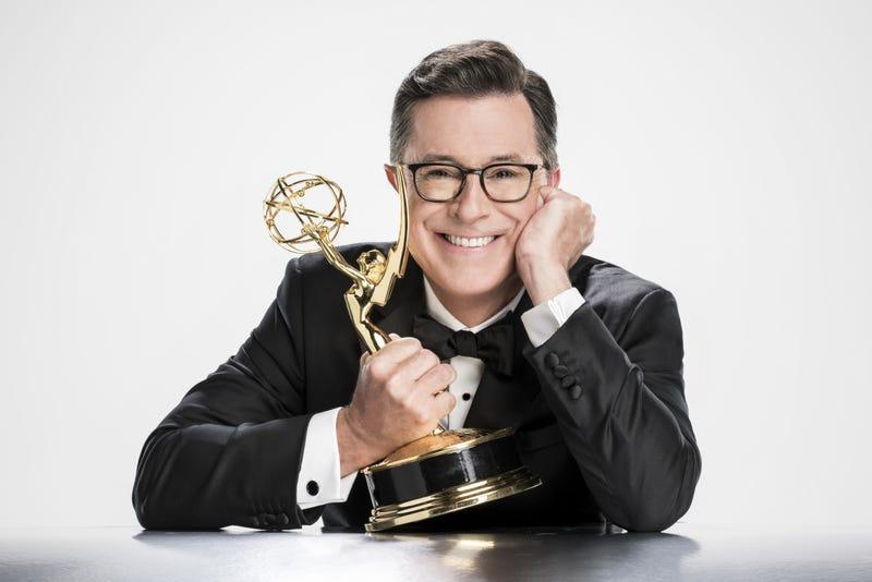 Stephen Colbert will host the 69th Primetime Emmy Awards. (Photo: John Filo/CBS ©2017 CBS Broadcasting, Inc.)