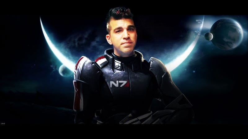 Illustration for article titled NASA's Mohawked Internet Sensation Could Totally be The Face of Mass Effect