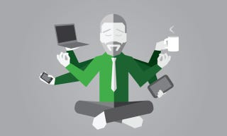 Illustration for article titled To Avoid Feeling Defined By Your Work, Stop Constantly Checking Email