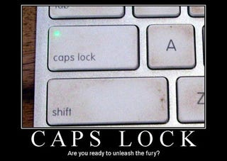 Illustration for article titled Celebrate International Caps Lock Day by Remapping the Key