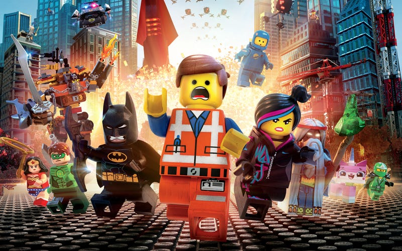 Illustration for article titled The makers of The LEGO Movie take apart their creation brick by brick