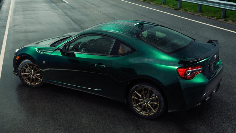 Illustration for article titled The Very Green Toyota 86 Hakone Edition Package Will Cost You $30,825