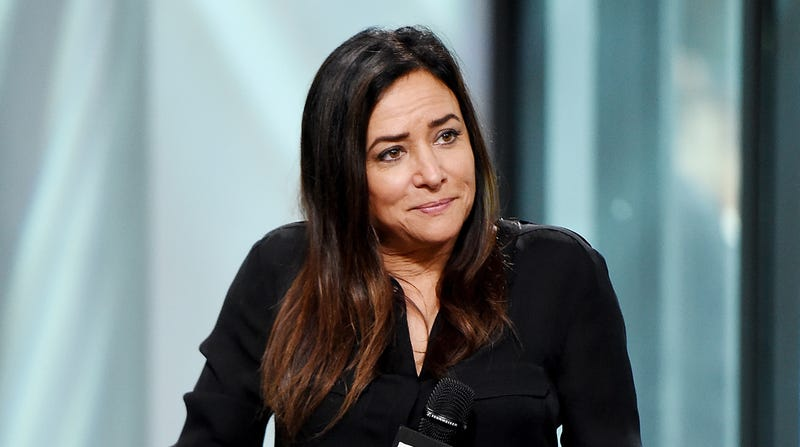 Approximately what Pamela Adlon's face must have looked like when she had to point out there were only dudes behind the cameras.