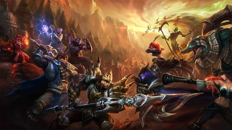 Illustration for article titled League of Legends Attacked By Small Group of Jerk Players