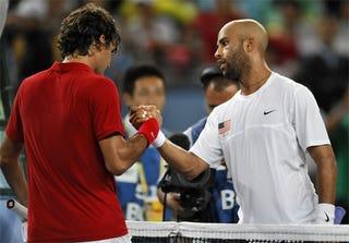 Illustration for article titled Golden Boys: Roger Federer, James Blake