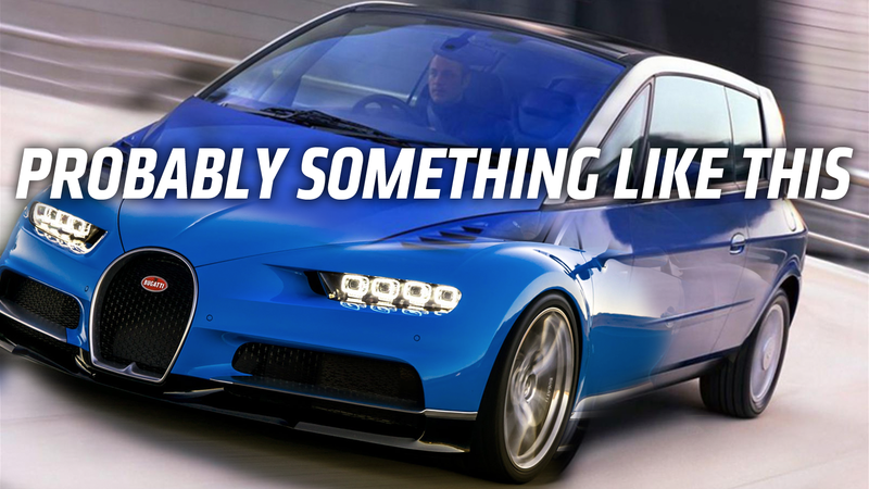 Illustration for article titled Bugatti Says Its New Car Will Have a Body 'Which is Not Today on the Market' But What Could That Be?