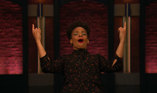 "Illustration for article titled After Alabama, Late Night's Amber Ruffin has one message for white America: ""You're welcome"""