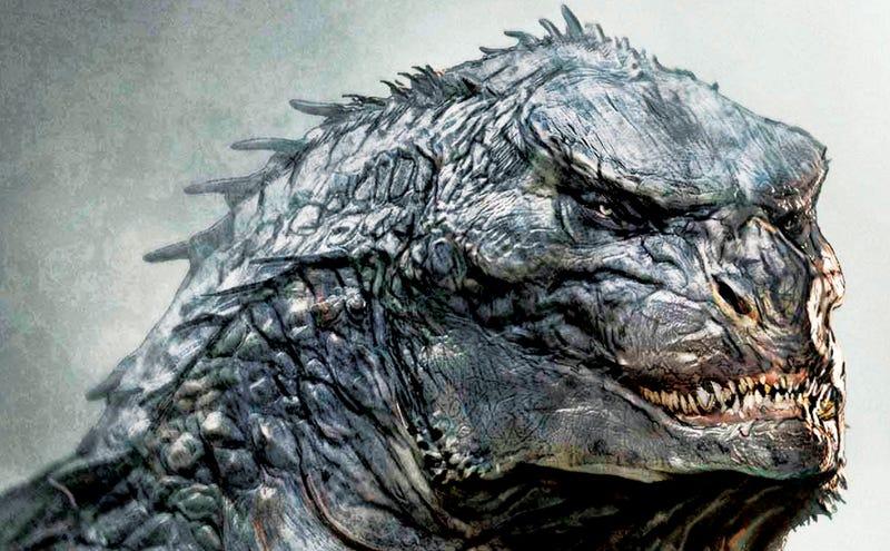 Illustration for article titled Esta podía haber sido la cara del nuevo Godzilla