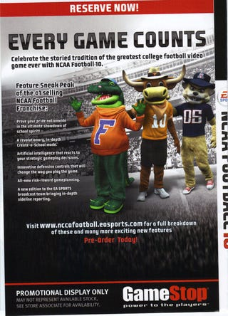 Illustration for article titled Create-a-School Returns to NCAA Football