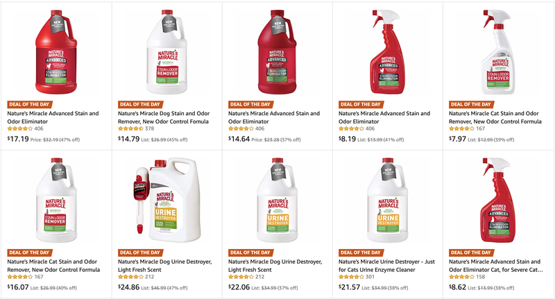 Nature's Miracle Cleaning Sale