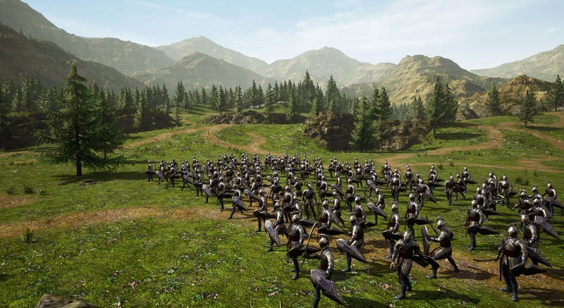 Lord Of The Rings Fans Are Remaking The Battle For Middle Earth In Unreal Engine 4
