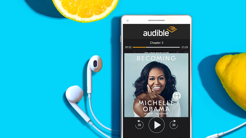 3-Month Subscription to Audible | $15 | Amazon